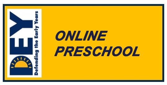 DEY's Actions on Online Preschool