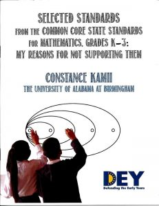 selected standards from the common core