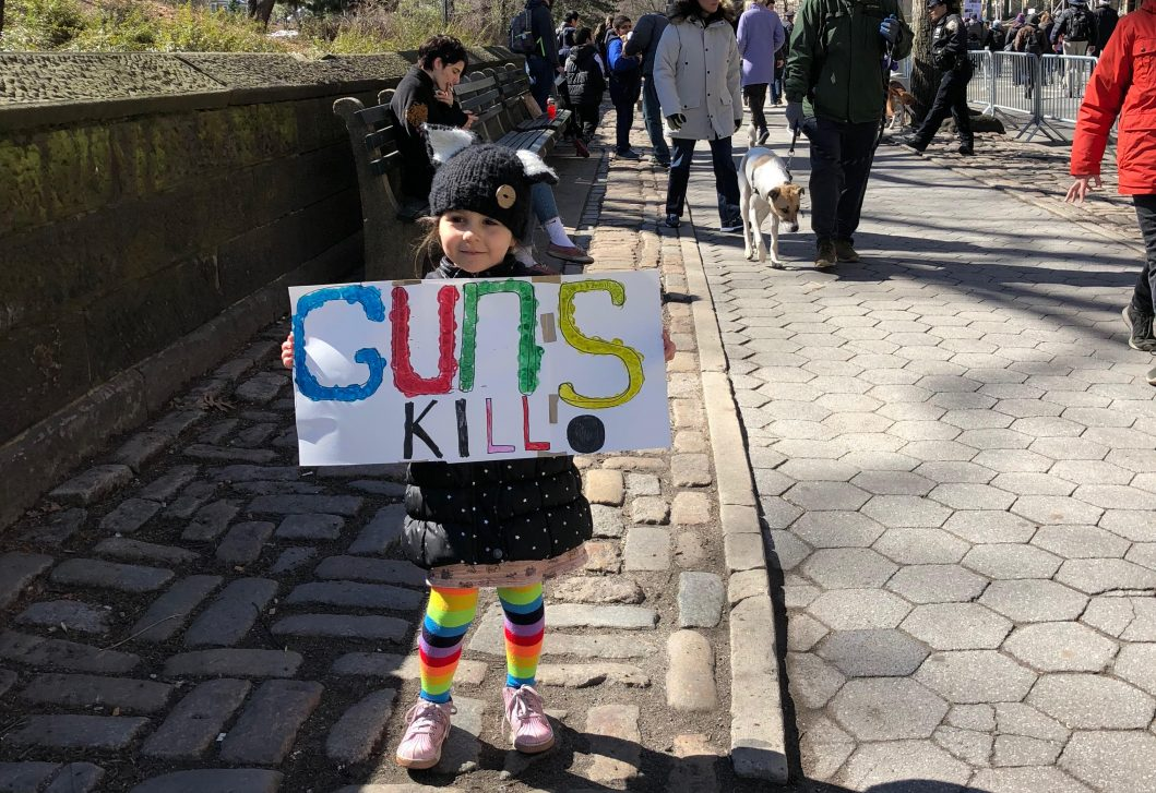 Preschoolers and the National Day of Action Against Gun Violence in Schools