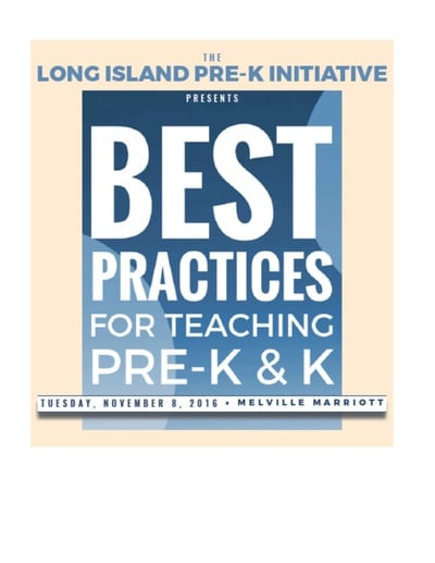 DEY on Best Practices for Teaching Pre-K & K