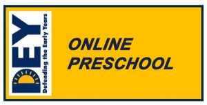 DEY Takes Action: Online Preschool
