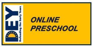 DEY Takes Action: Online Preschool