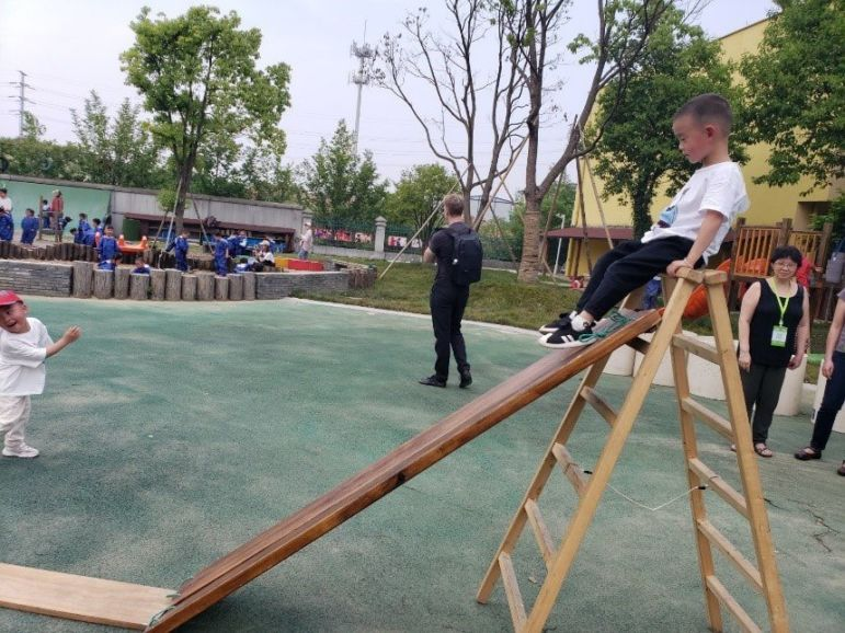 the First International True Play Conference in Anji County, China